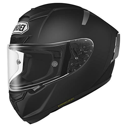 Shoei Solid X-14 Sports Bike Racing Motorcycle Helmet - Matte Black/Large