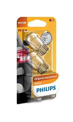 Philips 12066B2 Vision W21/5W Signallampe, 2er Blister