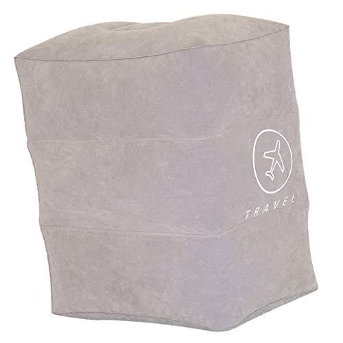 Baoblaze Reposapiés Inflable para Bebé Infantil 40x26x46cm - Gris, Individual