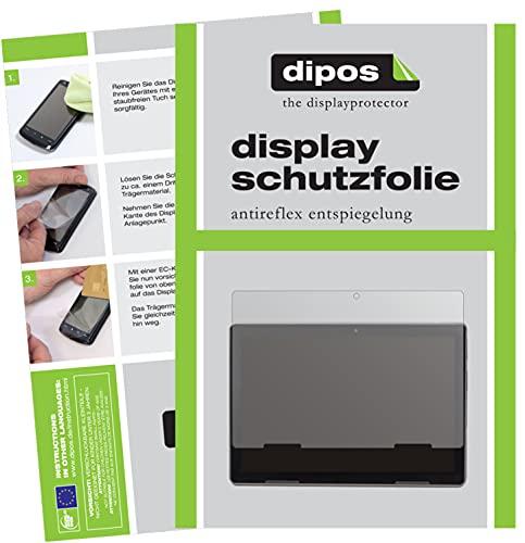 dipos I Schutzfolie matt kompatibel mit Medion LifeTab Education P10912 Bildschirmschutz-Folie