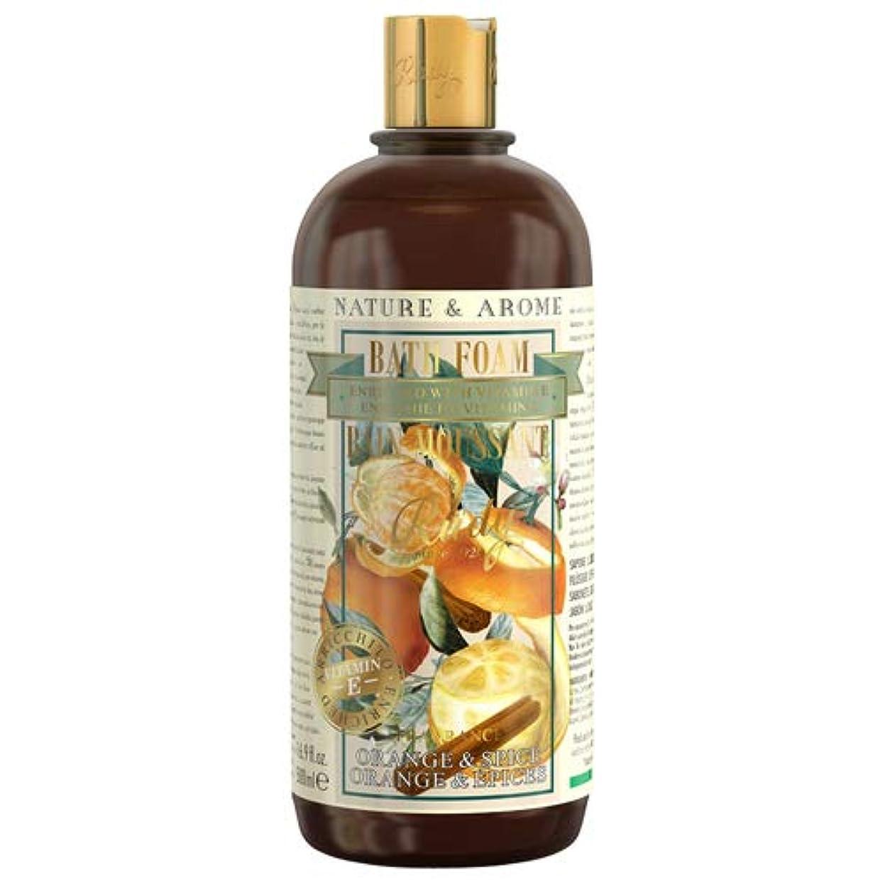同じ裂け目臭いRUDY Nature&Arome Apothecary ネイチャーアロマ アポセカリー Bath & Shower Gel バス&シャワージェル Orange & Spice オレンジ&スパイス