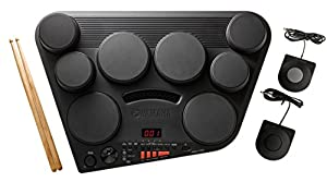 Yamaha DD75 Portable Digital Drums with 2 Pedals and Drumsticks - Power Adapter sold separately