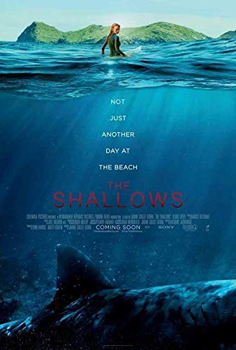67397 The Shallows Movie Blake Lively Scar Jaenad Decor Wall 16x12 Poster Print