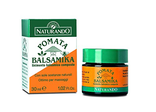 Naturando Pomata Balsamika 30 ML Lenisce i Fastidi Muscolari e i Dolori Cervicali, ideale...