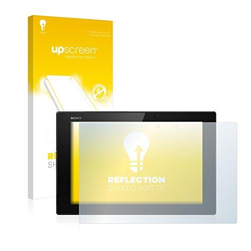 upscreen Entspiegelungs-Schutzfolie kompatibel mit Sony Xperia Z2 Tablet – Anti-Reflex Bildschirmschutz-Folie Matt