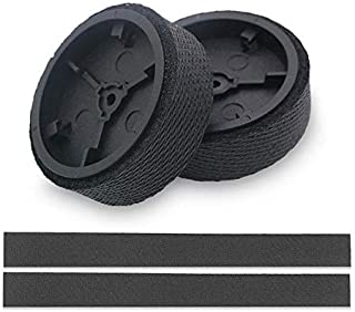 Lesgos Braava and Mint Wheels Tires for iRobot Braava 380 320 Mint 5200C 5200 4200 4205 Mopping Robot Accessories Replacement Parts