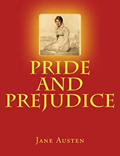 PRIDE AND PREJUDICE, JANE AUSTEN, LARGE 16 Point Font Print