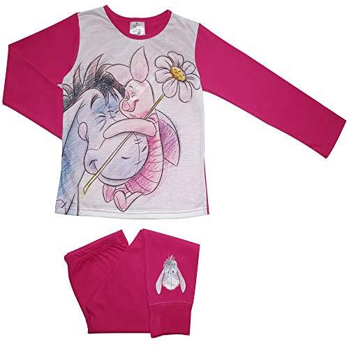 Winnie The Pooh Eeyore & Piglet Mädchen Schlafanzug 7-8 Jahre