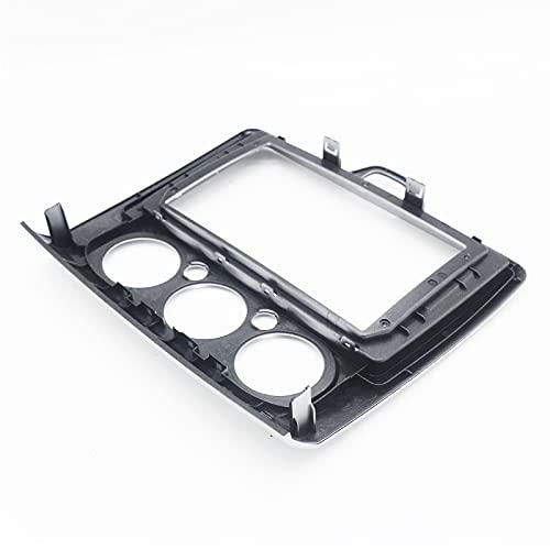 JzyhNzd para Ford Focus 2005 2011, Radio de Coche de 9 Pulgadas 2 DIN Fascia Frame Panel de DVD Instalación de Tablero Adaptador de Audio Facia