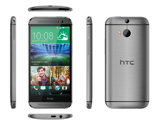 HTC One M8 Smartphone, 16 GB, Grigio (Gun Metal Grey) [Italia]
