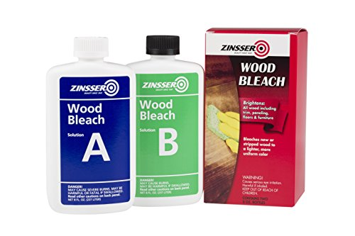 Zinsser 300451 Wood Bleach, 8 oz