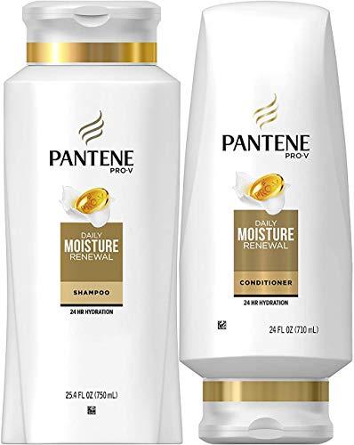 Pantene Moisturizing Shampoo and Conditioner for...
