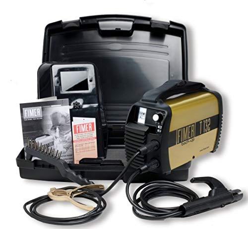 FIMER T132 GEN Saldatrice inverter 120A 230V elettrodo MMA TIG con kit accessori
