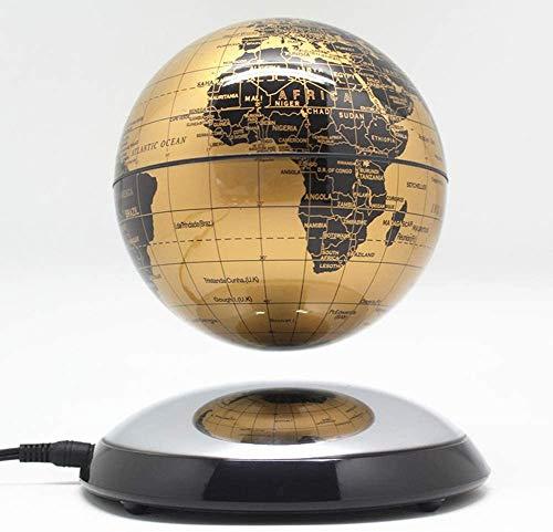 JYKFJ Empresa de decoración de Escritorio de Mapa del Mundo de Globo Flotante de levitación magnética Creativa de 6 Pulgadas