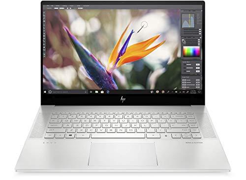 HP Envy 15-ep0011na 15.6' FullHD touchscreen Laptop - Core i7 10750H (6 Core), 16GB DDR4, 1TB SSD, Nvidia GeForce GTX 1660 Ti 6GB, WIFI 6 & Bluetooth 5, Windows 10 Pro – UK Keyboard Layout (Renewed)