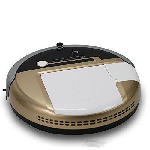 JIANFCR Intelligente Robot Spazzare Intelligente Automatico Aspirapolvere Automatico Di Ricarica Spazzamento Macchina Pianificazione Spazzare Casa Spazzatrice,Gold