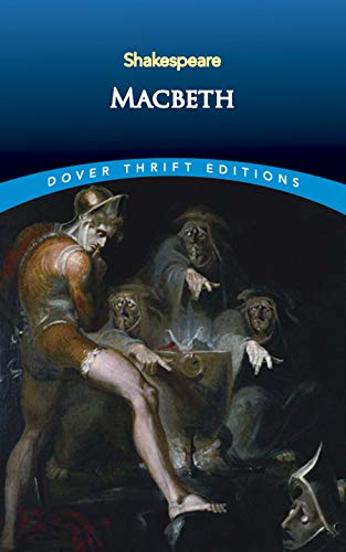 Macbeth (Dover Thrift Editions) [French] 0486278026 Book Cover
