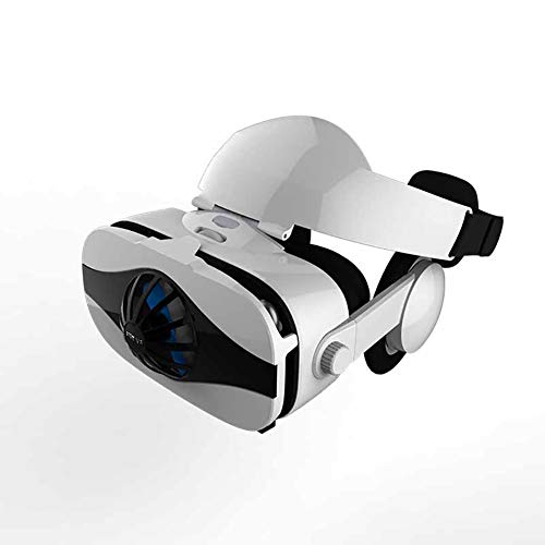 Best Buy! Virtual Reality Headset, 3D Virtual Glasses AR/VR Headset Perfect Work with Max Size Smartphones | Eye-Safe Adjustable HD Quality Lenses
