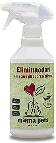 M Ma Pets Spray Eliminaodori di Cani e Gatti - Adatto anche per i Cattivi Odori più Ostinati e Persistenti - 500 Ml