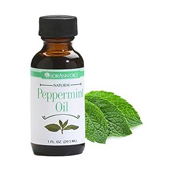 LorAnn Peppermint Oil SS Natural Flavor 1 ounce bottle