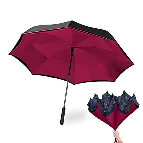 Wonderdry Umbrella 2018 Regenschirm, 78 cm, Rot (Rojo)