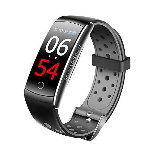 Review DSWDA Intelligent Bracelet Round Screen Smart Bracelet Heart Rate Blood Pressure Blood Oxygen...