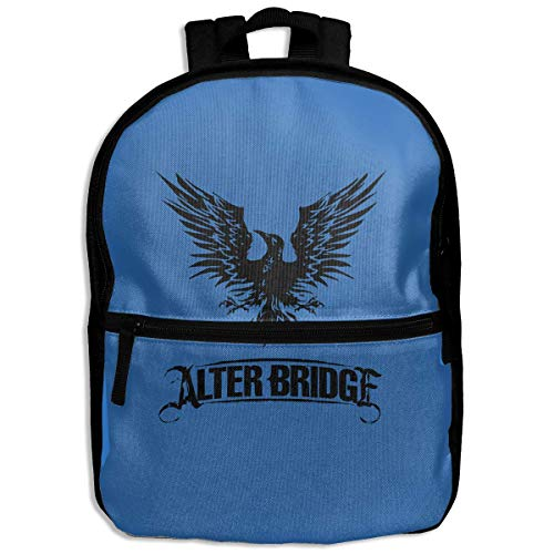 NJIASGFUI Mochila para niños con logo de Alter Bridge Blackbird, para la escuela, senderismo, viajes, mochila pequeña para niños y niñas