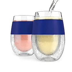 Host 5167 Red & White Wine Tumbler Cups (Set of 2)