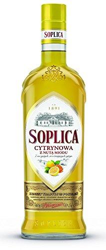 SOPLICA Wodka cytrynow nuta miodu 0.5l 30% Gout du citron au miel
