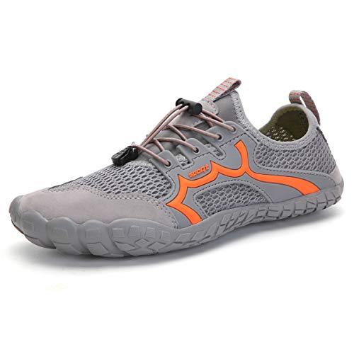 Parcclle Zapatillas de deporte para mujer y hombre, transpirables, ligeras, cómodas y cómodas, para el tiempo libre, s3060