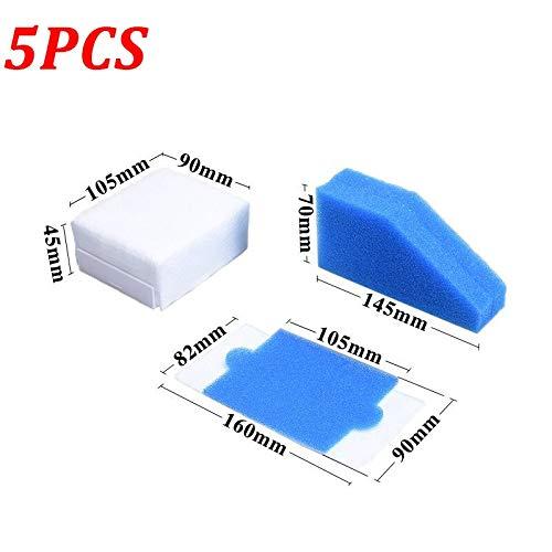 CAIM Accessoires pour Aspirateur 5pcs / lot Aspirateur Filtre HEPA for Thomas 787241 99 Accessoires for aspirateurs Filtres en Mousse Remplacement