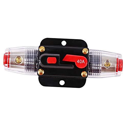 Leitungsschutzschalter Car Audio DC 12-24V 40A Leistungsschalter Reset Sicherung rücksetzbar Gebrauch für Auto