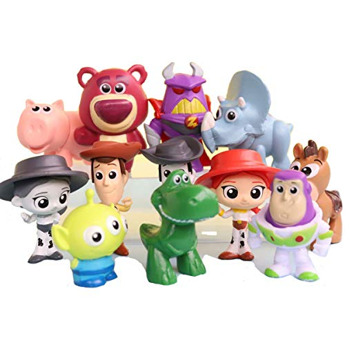 Toy story 4 personnages 10er Pack Figurines minifigur Mini Jouet Fan