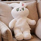 N / A 1 Unids Lindo Mochila Conejo de Peluche Kawaii Bunny Mochila Juguete Conejo Relleno Niños Bolso Escolar Regalo Niños Juguete para Niñas Bolso 75x27cm
