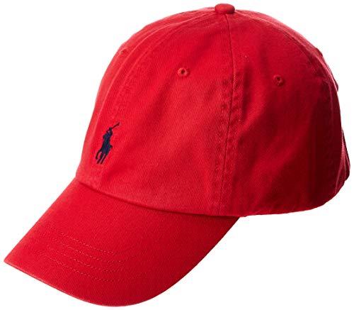 Polo Ralph Lauren Men's Classic Pony Logo Hat Cap (BSR RL2000 Red) One Size