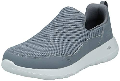 Skechers Gowalk Max Privy-Slip-On Walking Shoe Sneaker Men's, Charcoal, 12