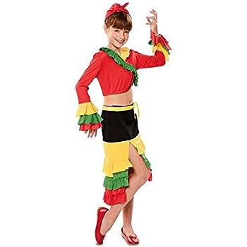 Costumizate! Disfraz de Brasileña Talla 5-6 Especial para niños ...