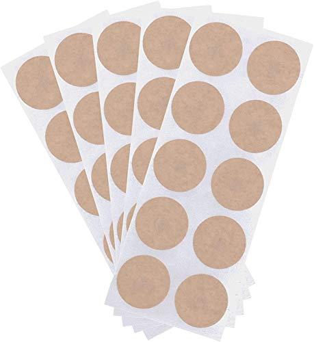 MagnetRX® Ersatzpflaster für Magnet Therapie (50 Pack) - Magnetpflaster Ersatz - Hochwertige runde Baumwollpflaster zum Austauschen von Akupressur Pflaster