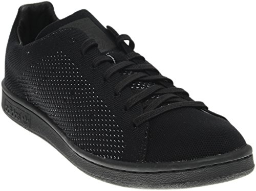 adidas Stan Smith Primeknit Mens in Black by, 4