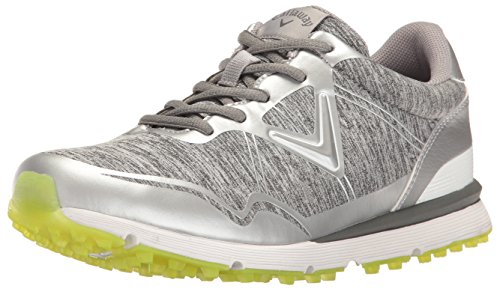 Callaway Women's Solaire Golf Shoe, Heathered, 6.5 B US