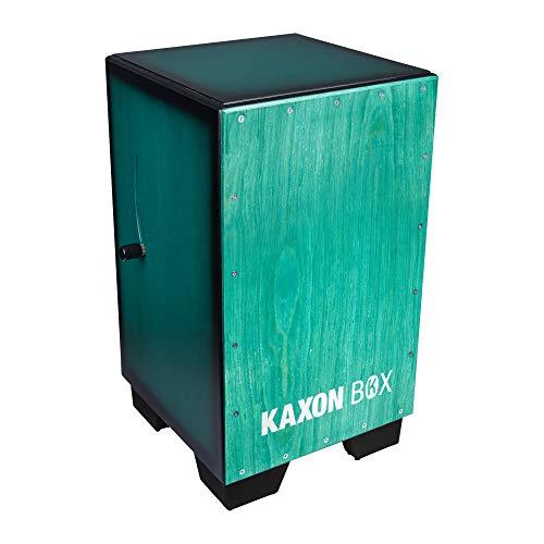 KAXON BOX Adjustable Snare Cajon Hand Crafted Birch Wood (H:50 W:30 L:30 cm) -3 Internal Snares, Deep Bass tone