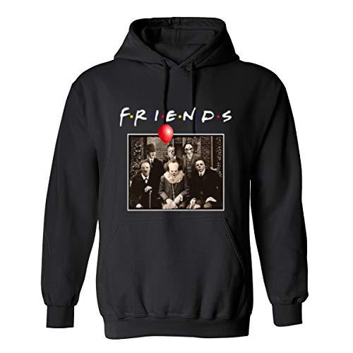 Friends Horror Movies T-Shirt Michael Myers Manteau de Veste à Capuche Halloween de Jason Voorhees
