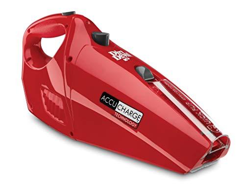 Dirt Devil Hand Vacuum Cleaner Accucharge 15.6 Volt Cordless Bagless Handheld Vacuum BD10045RED