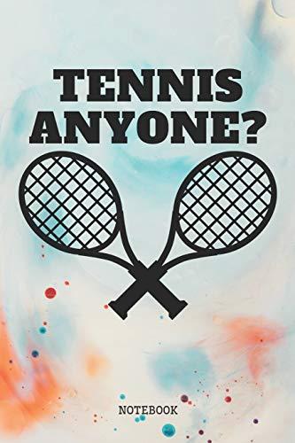 Notebook: Tennis Coach Planner / Organizer / Lined Notebook (6