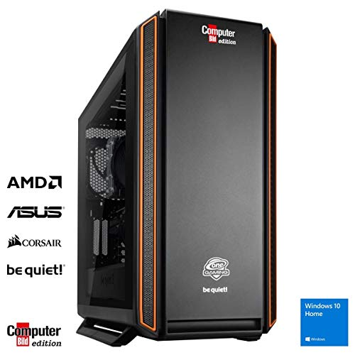 ONE Gaming PC Grizzly Computer Bild Edition AMD Ryzen 9 3900X 12x 4.60GHz ASUS NVIDIA GeForce RTX 2080 SUPER 32GB DDR4 1TB M.2 PCIe (NVME) SSD Windows 10 Home 3 Jahre Garantie