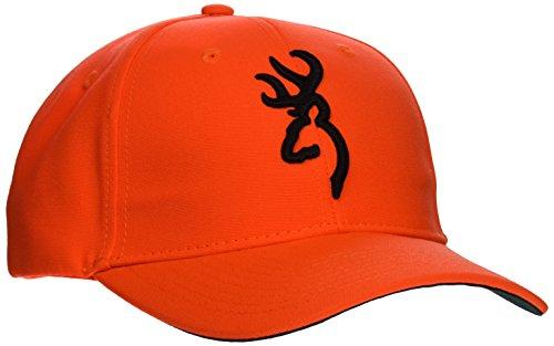 Browning Erwachsene Safety Cap 3D ORANGE EINE GRÖSSE Kappe, One Size