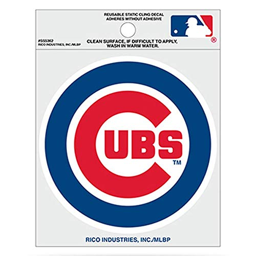 MLB Chicago Cubs Small Static Decal