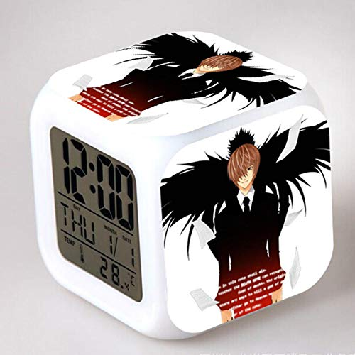 Anime Charakter Modell Alarm Mit Led Touch Touch Manga Action Und Spielzeug Modell 13