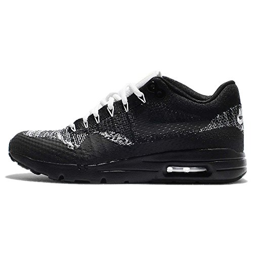 Nike Womens Air Max 1 Ultra Flyknit Running Trainers 859517 Sneakers Shoes (8, Black Anthracite White 001)
