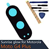 Rear Camera Glass Lens with Adhesive Compatible with Motorola Moto G4 Plus XT1640 XT1642 XT1643